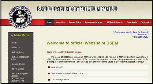 Manipur Board 10th 12th Duplicate Marksheet Certificate Download 2021
