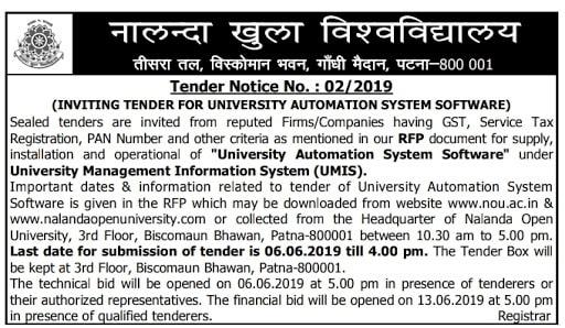 Nalanda Open University Migration Certificate Online Download 2021 @nou.ac.in